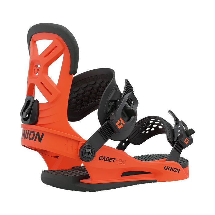 Union Kids Cadet Pro Snowboard Bindings - Orange (2021)