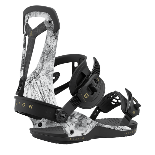 Union Falcor Snowboard Bindings - Arctic White (2021)