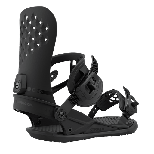 Union Strata Snowboard Bindings - Black (2021)