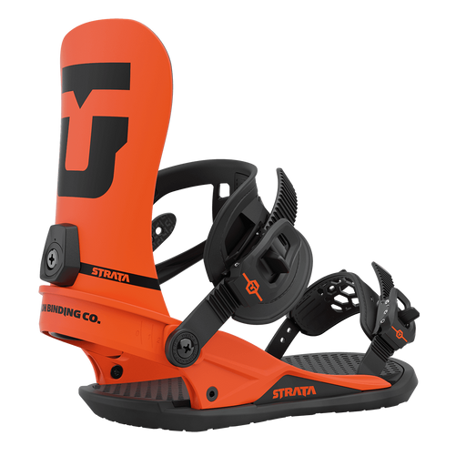 Union Strata Snowboard Bindings - Orange (2021)
