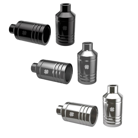 Lucky Lugz Scooter Pegs - Gunmetal, Black, or Polished