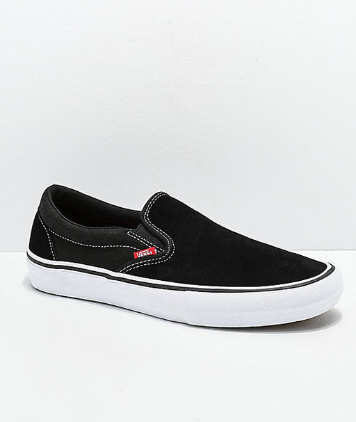 Vans Slip On Pro black and white