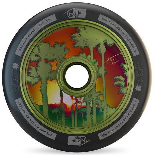 Lucky Tanner Fox Signature Wheel 100mm - Guac Green