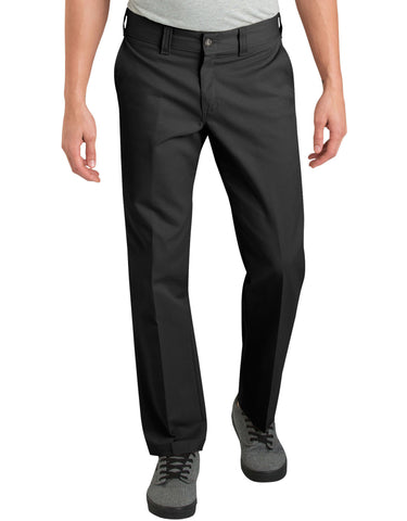 Dickies '67 Slim Fit Straight Leg Work Pants - Black