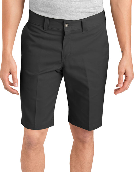 "Dickies '67 11"" Slim Flex Twill Work Shorts - Black"