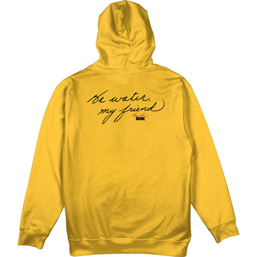 DGK X Bruce Lee Focused Hoodie - Gold