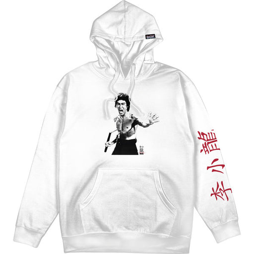 DGK X Bruce Lee Fierce Hoodie - White