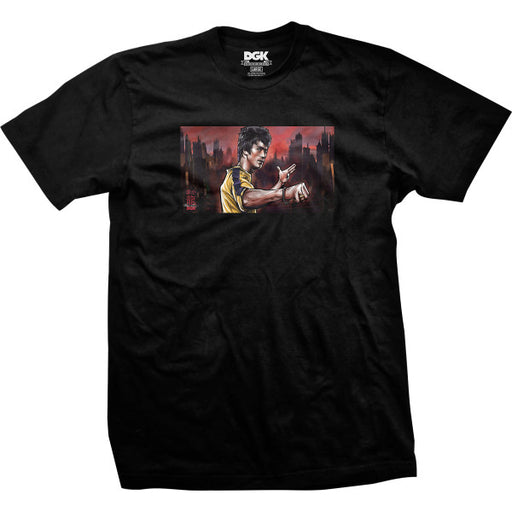 DGK X Bruce Lee Warrior T Shirt - Black