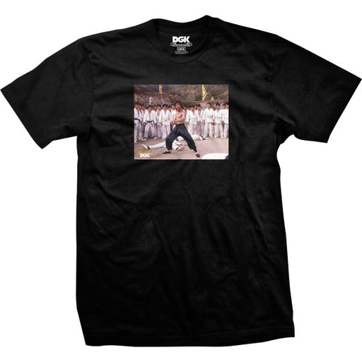 DGK X Bruce Lee Who's Next T Shirt - Black