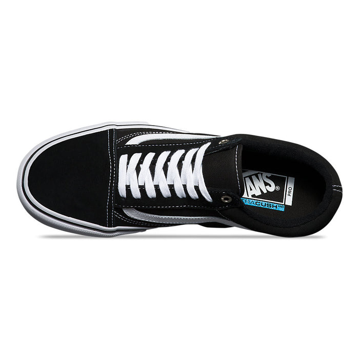 Vans Old Skool Pro Shoes - Black/White