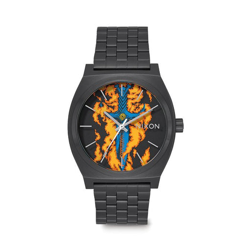 Nixon Time Teller Watch - Bones Brigade Guerrero/Black