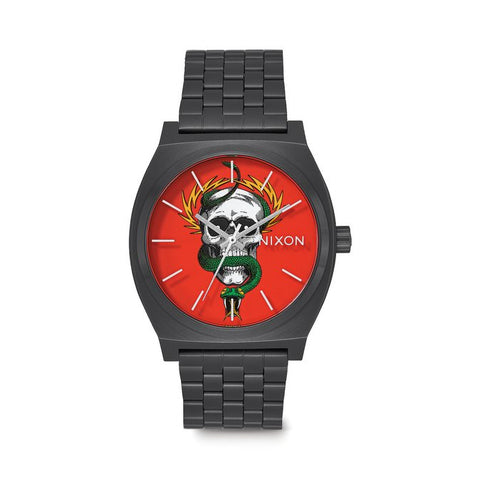 Nixon Time Teller Watch - Bones Brigade McGill Black/Red
