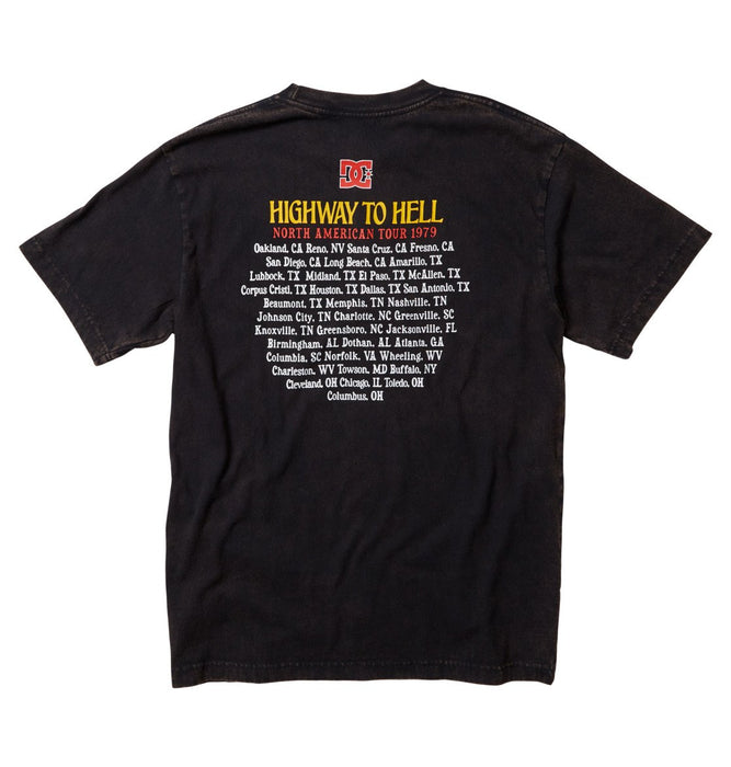 DC AC/DC Highway To Hell Tee - Black