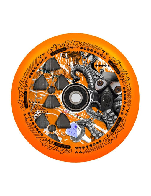 Chubby Lab Wheel - Radioactive Orange