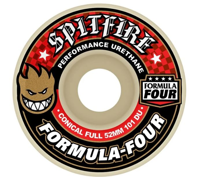 Spitfire Formula Four Conical Shape 101 Duro Wheel