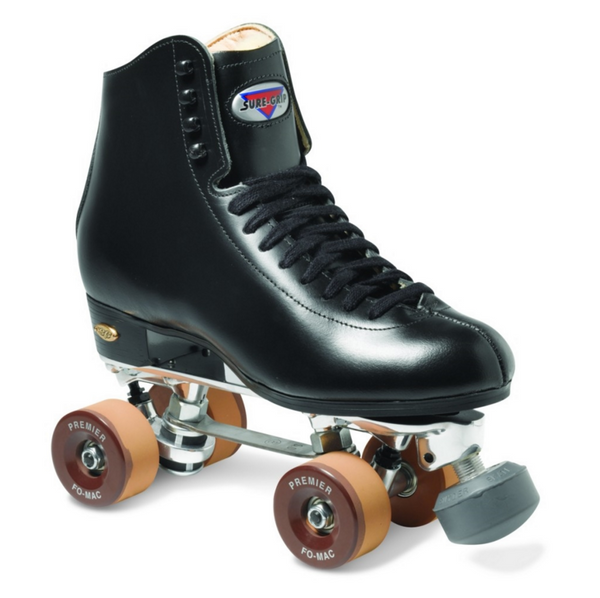 Sure Grip Detroit Rhythm Roller Skates - Black or White