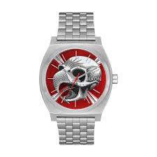 Nixon Time Teller Watch - Bones Brigade Hawk/Silver