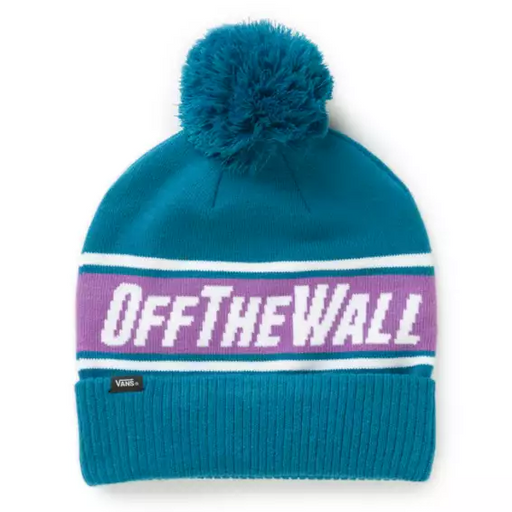 Vans Off The Wall Pom Beanie - Turkish Tile (2020)
