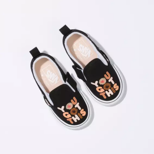 Vans Breast Cancer Awareness Toddlers Slip On