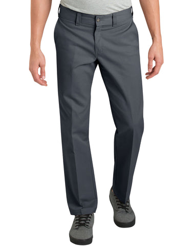 Dickies '67 Slim Fit Straight Leg Work Pants - Charcoal