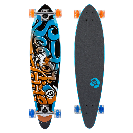 Sector 9 Swift Glow Wheel Complete Longboard - 34.5""