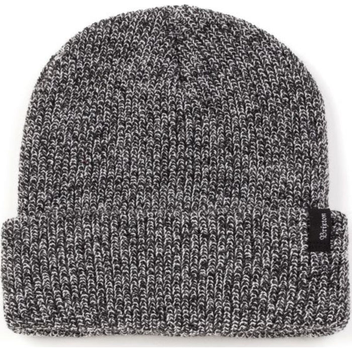 HEIST BEANIE - BLACK/HEATHER GREY