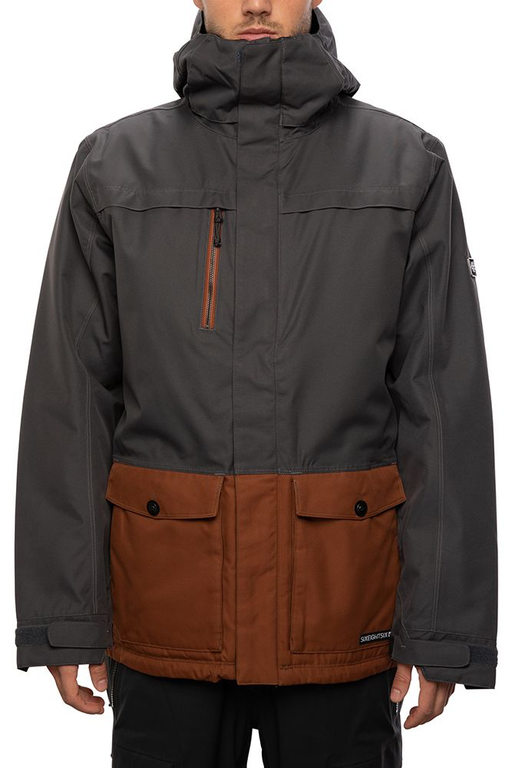 686 Anthem Insulated Jacket - Charcoal (2021)