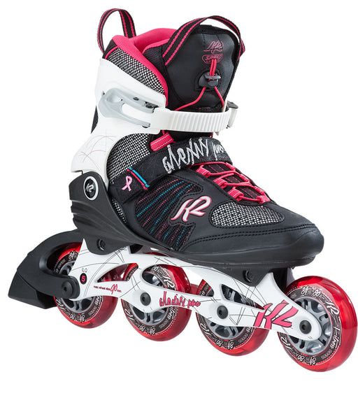 K2 Alexis Pro 84 Women's Inline Skates - Black/White/Red