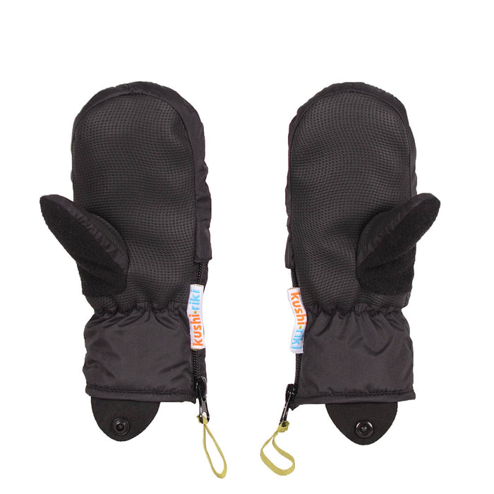 Kushi-Riki Kids Hope Mittens - Black (2018)