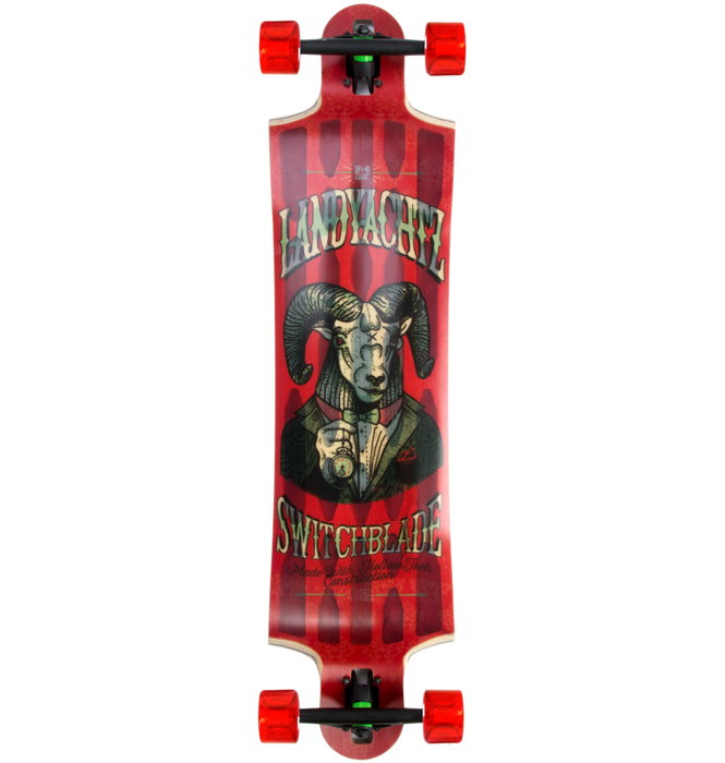"Landyachtz Hollow Tech Switchblade 40"" (Ram) Complete Longboard"
