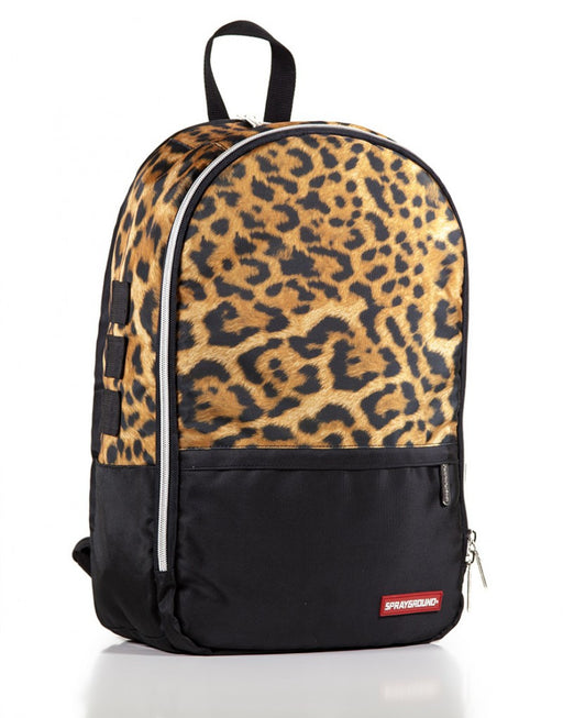 Sprayground Leopard Money Stash Backpack