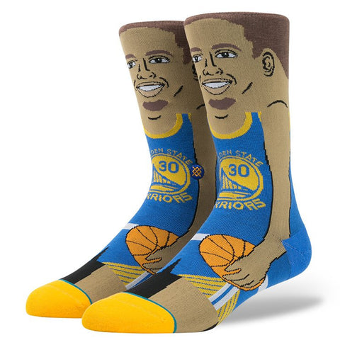 Stance Men's Stephen Curry Socks - Blue