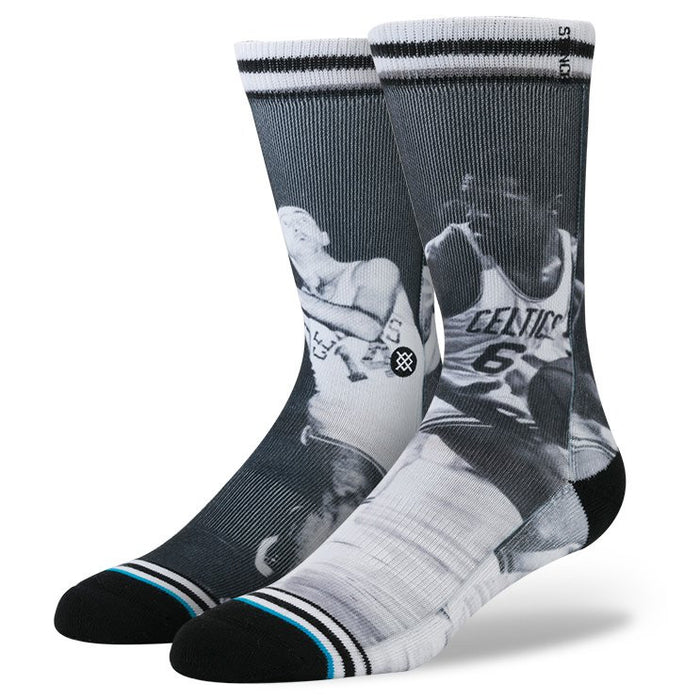 Stance Men's Cousy/Russel Socks - Black