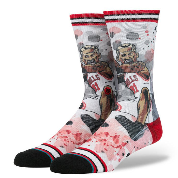 Stance Men's The Worm Socks - Red