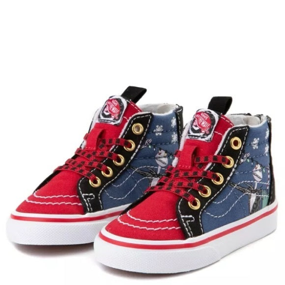 Vans Sk8-Hi Zip Nightmare Before Christmas Christmastown (TD)
