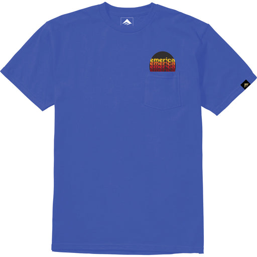 HIGH NOON POCKET TEE ROYAL