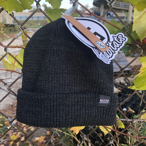 Modern Basic Beanie Heather Grey
