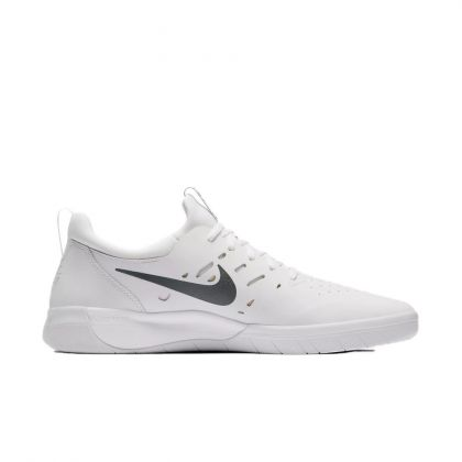 Nike SB Nyjah Free Summit White/Lemon Wash-Anthracite Shoe