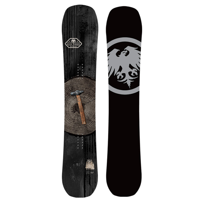 Never Summer Men's Hammer Snowboard - 2021