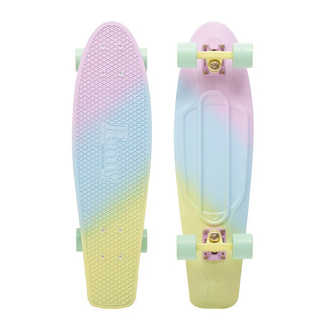 Penny 27 Nickel Painted Fade Complete Skateboard Candy