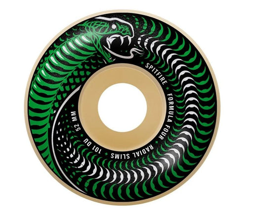 Spitfire Formula Four Radial Slim Shape 101 Duro Wheel