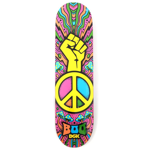 Dgk Black Peace Boo Deck 8.25
