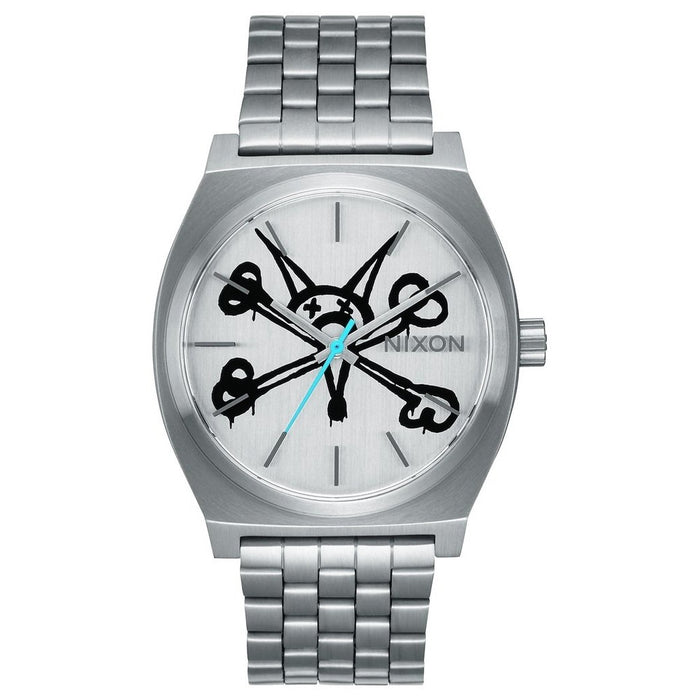 Nixon Time Teller Watch - Bones Brigade Vato Rat/Silver