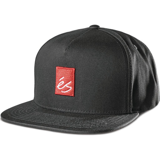 MAIN BLOCK SNAPBACK BLACK