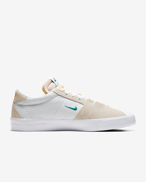 Nike SB Zoom Bruin Edge White/Vivid Orange/Gum Light Brown/Neptune Green Shoe