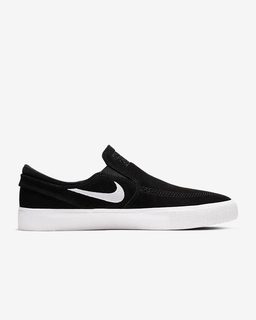 Nike SB Stefan Janoski Slip-On Premium Black/White/White Shoe