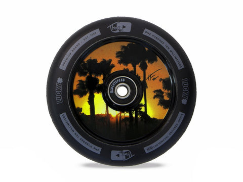 Lucky Tanner Fox Signature Wheel 110mm - Black