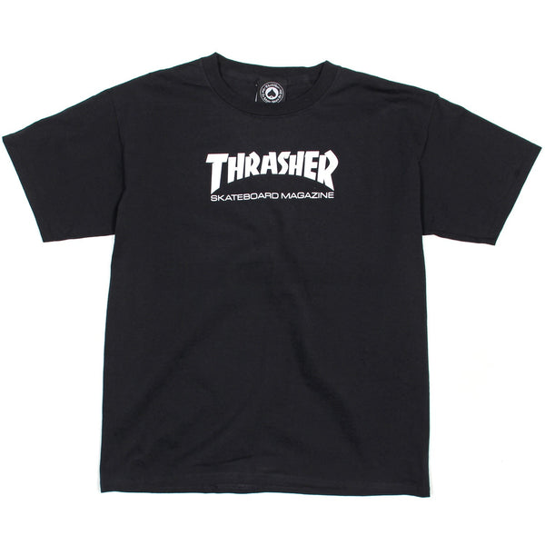 Thrasher Youth Skate Mag T Shirt - Black