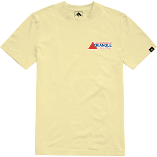 JON DICKSON POCKET SS TEE LT YELLOW