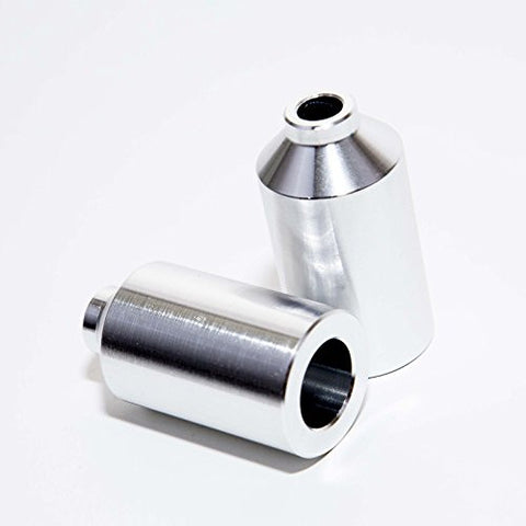 Envy Aluminum Pegs With Axle - Silver